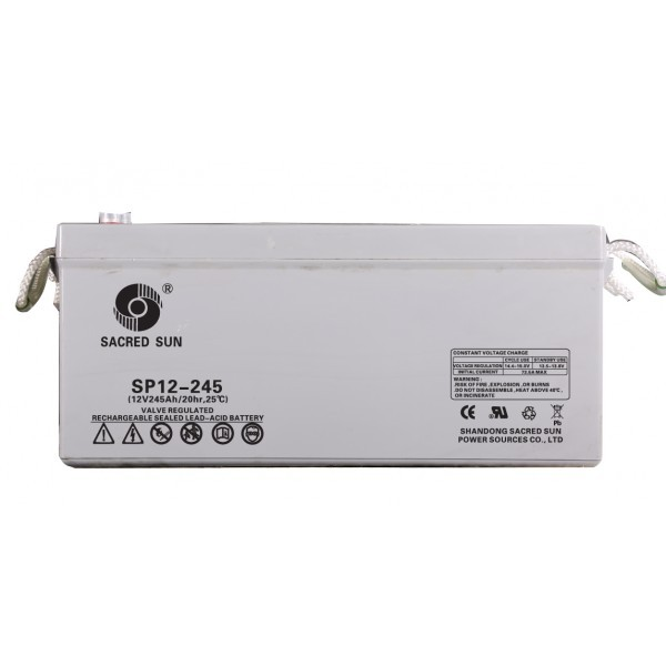Sacred Sun 245 Ampere Dry Battery