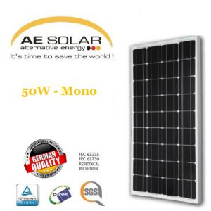 AE Solar 50Watt Mono-crystalline