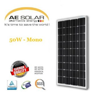 AE Solar 100Watt Mono-crystalline