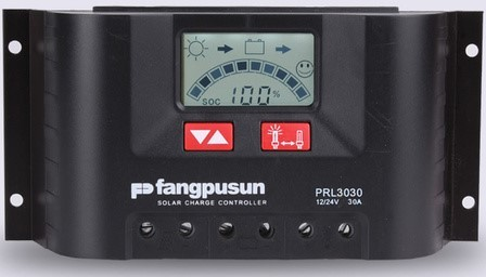 30 Ampere PWM Solar Charge Controller