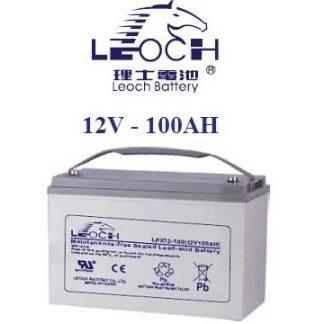 Leoch 12V 100AH Battery