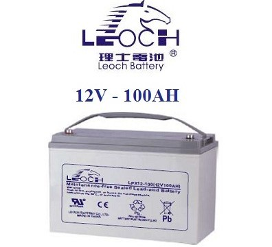 Leoch 12V 100AH Battery