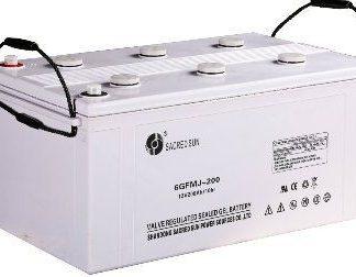 Sacred Sun 12V-200AH GEL Battery