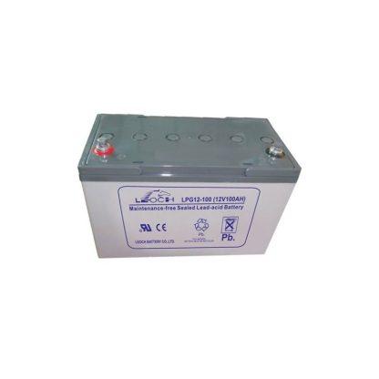 Leoch 12V 100AH Dry Battery