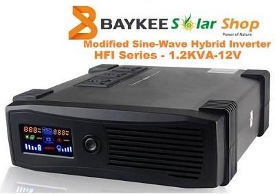Baykee HFI 1.2KVA 12V Solar Hybrid Inverter