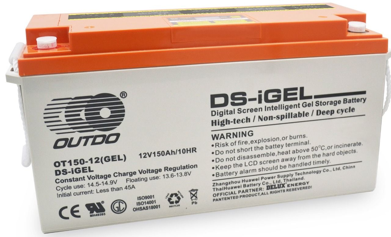 OUTDO iGel 150Ah-12V Battery