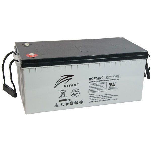 Ritar 12V 200Ah Dry Battery