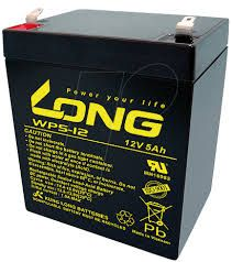 Long WP5-12 12V 5Ah UPS Battery