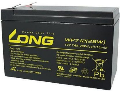 12V 7Ah WP7-12 LONG Battery