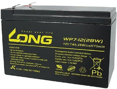 12V 7Ah WP7-12 LONG Battery