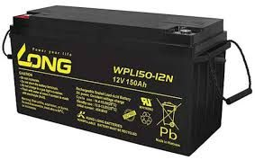 Long 12V 150AH WPL100 Battery