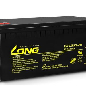 Long 12V 200AH WPL200 Battery