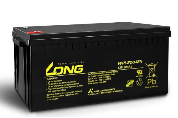 Long 12V 200AH WPL200 Battery