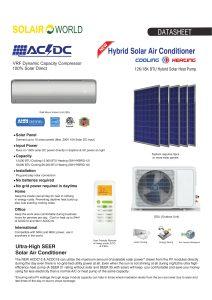 Solar Hybrid AC